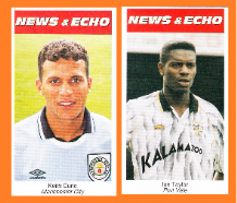Manchester City Keith Curle England Port Vale Ian Taylor
